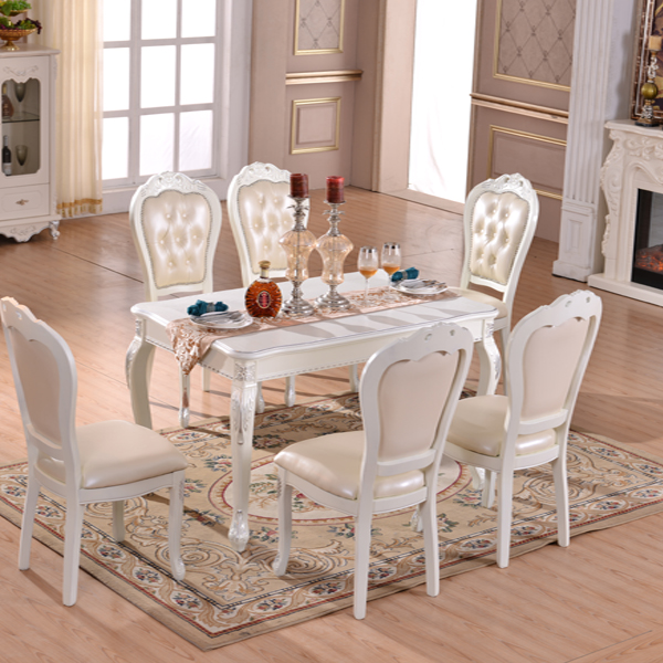 Dinner Set Modern Upscale Dining Room Wood Table And Chairs