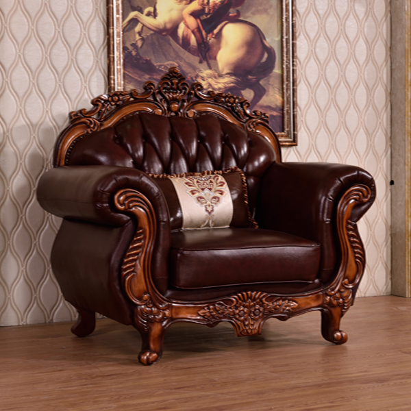 Italian Style Wooden Sofa Set Designs Hand Carved Sofa